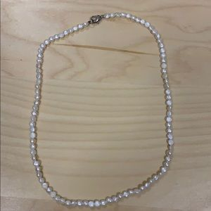 "Beautiful simulated pearl 16"" choker from England"